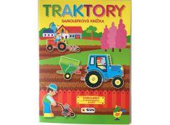 Sun Traktory samolepky k opakovanému použití