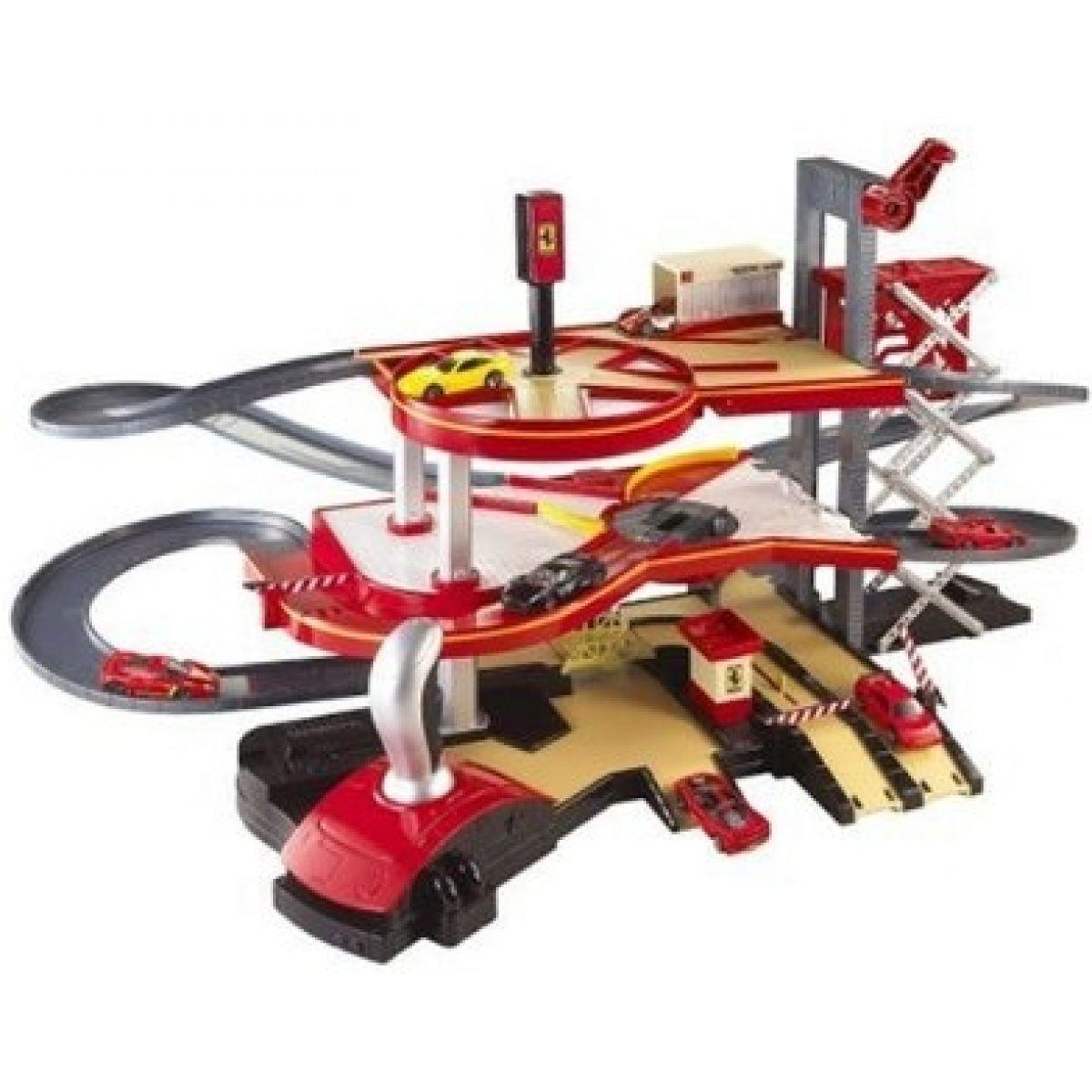 Super hrací set Showroom Ferrari