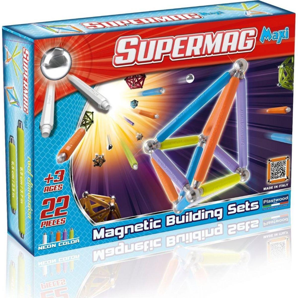 Supermag Supermaxi Neonové barvy 22d