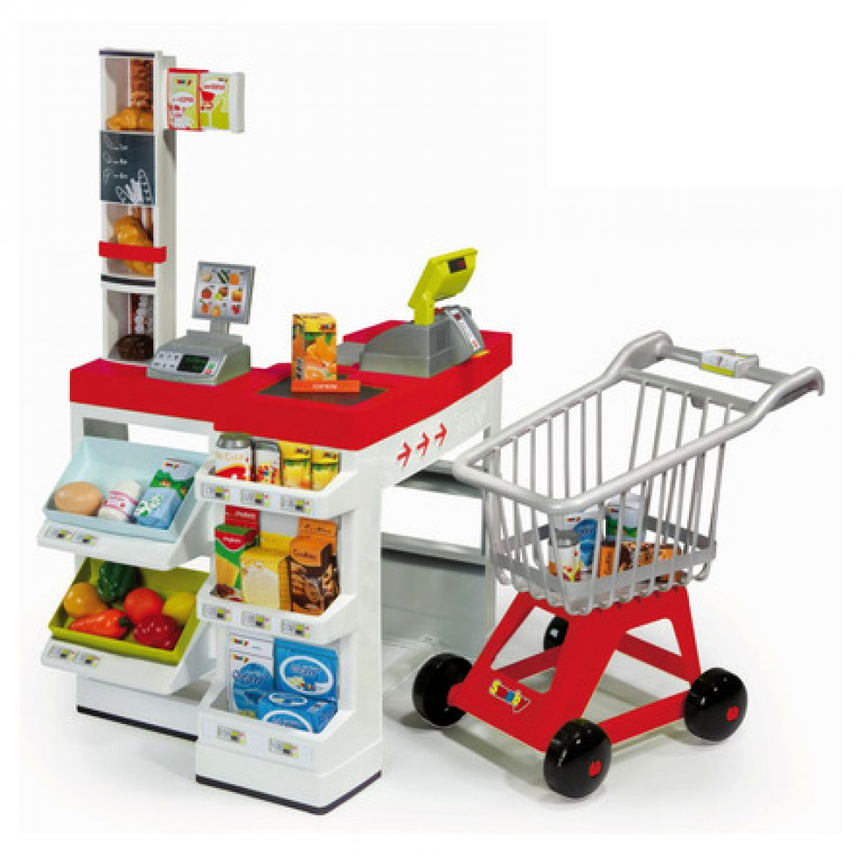 Supermarket Smoby 024709