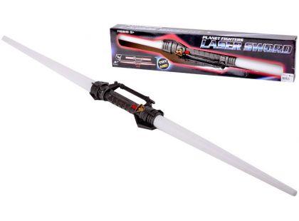 Světelný oboustranný meč