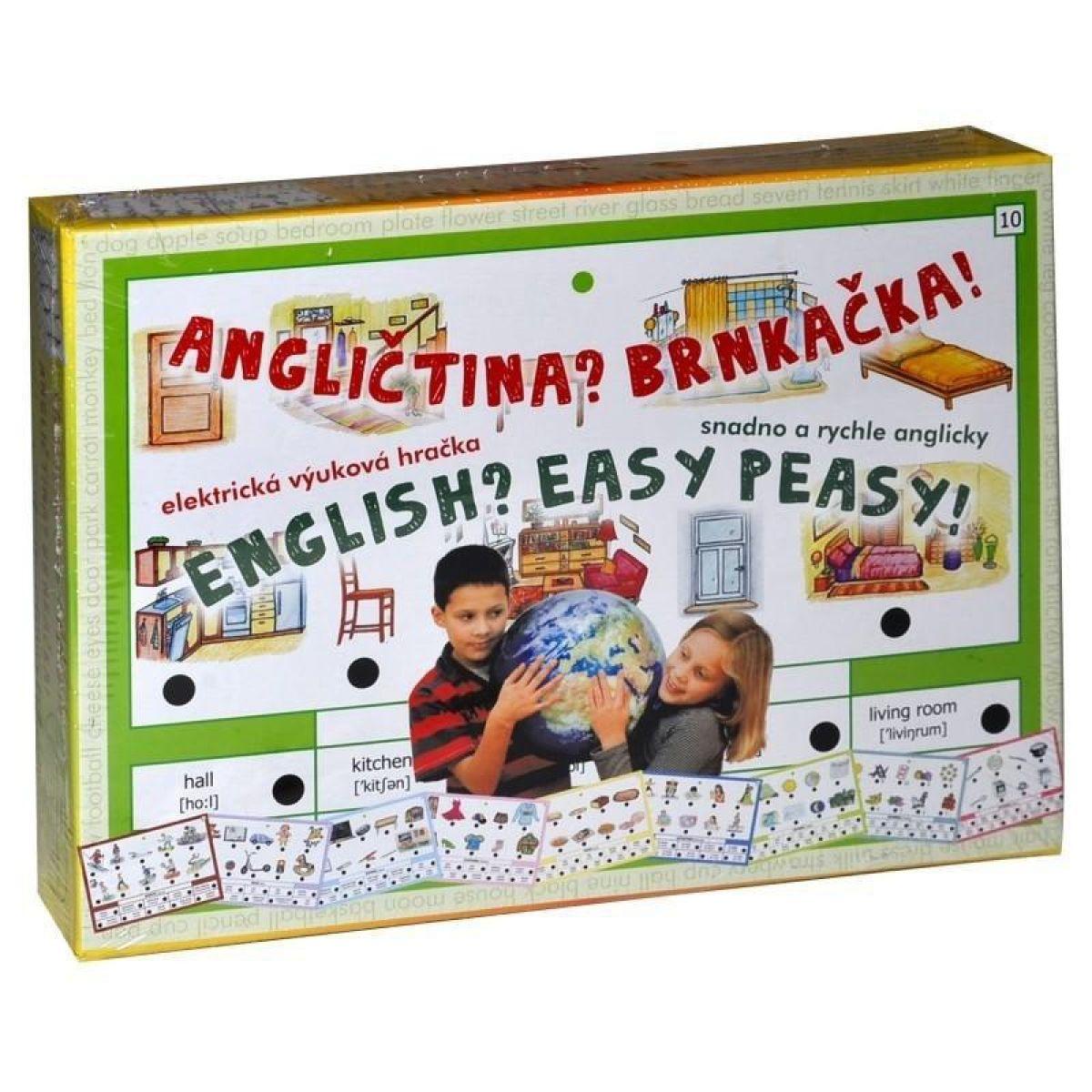 Svoboda Angličtina Brnkačka! elektrická výuková hračka