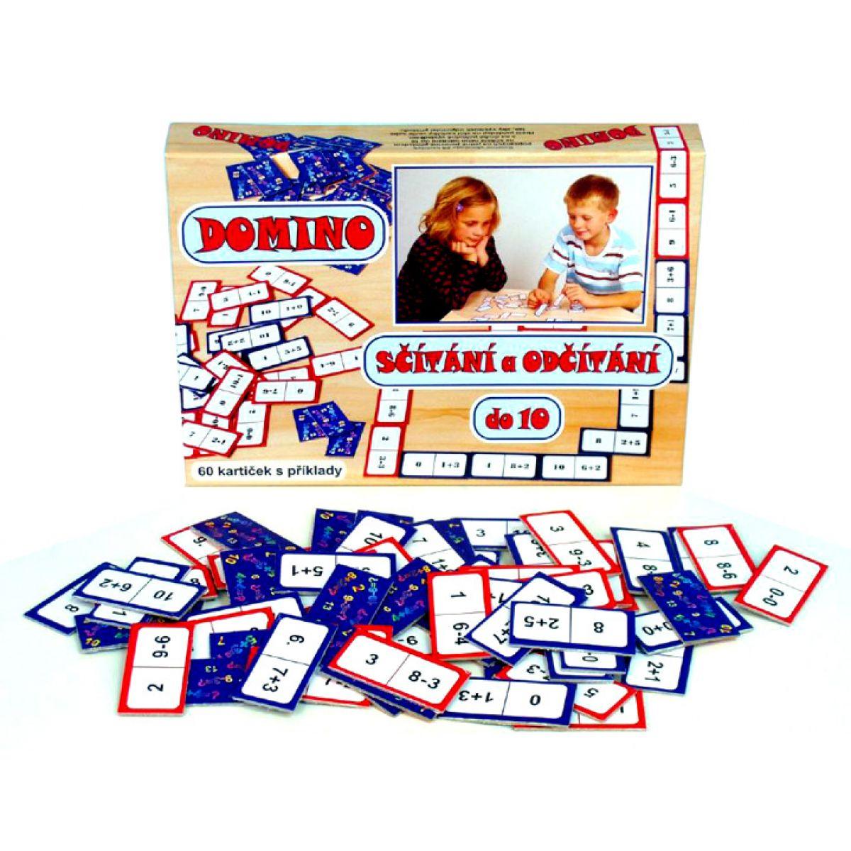 Svoboda Domino sčítání a odčítání do 10