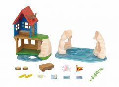 Sylvanian Families Dárkový set - Dům na pláži s příslušenstvím