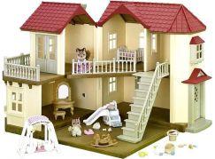 Sylvanian Families Dárkový set - městský dům se světly a příslušenstvím