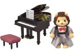 Sylvanian Families Město klavírista lev