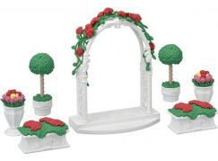 Sylvanian Families Město květinová výzdoba s bránou