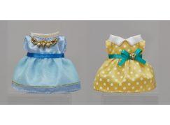 Sylvanian Families Město sada oblečků (modrý a žlutý)