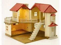 Sylvanian Families Městský patrový dům se světly a příslušenstvím