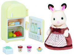Sylvanian Families Nábytek chocolate králíků - mamka u ledničky