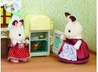 Sylvanian Families Nábytek chocolate králíků - mamka u ledničky 2
