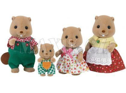 Sylvanian Families Rodina bobři