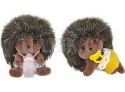 Sylvanian Families Rodina dvojčata ježci