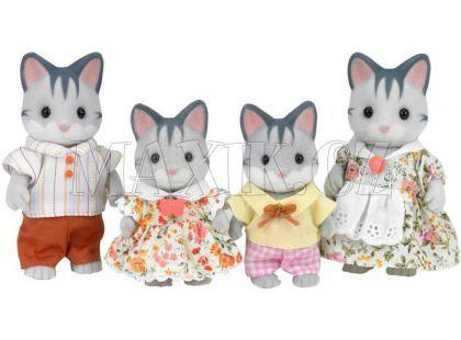 Sylvanian Families Rodina šedých koček
