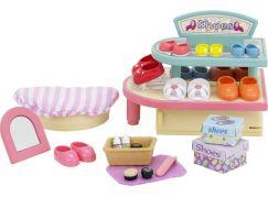 Sylvanian Families Venkovský obchod s obuví