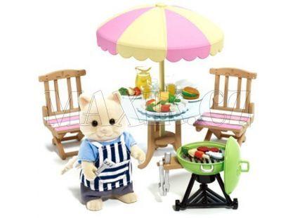Sylvanian Families Zahradní Barbecue set