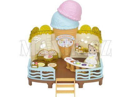 Sylvanian Families Zmrzlinová restaurace u moře