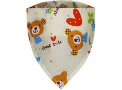 T-tomi Dětský šátek, 1 ks, medvídci