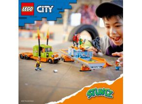 Ta pravá akční zábava s LEGO® City Stunzt začíná!