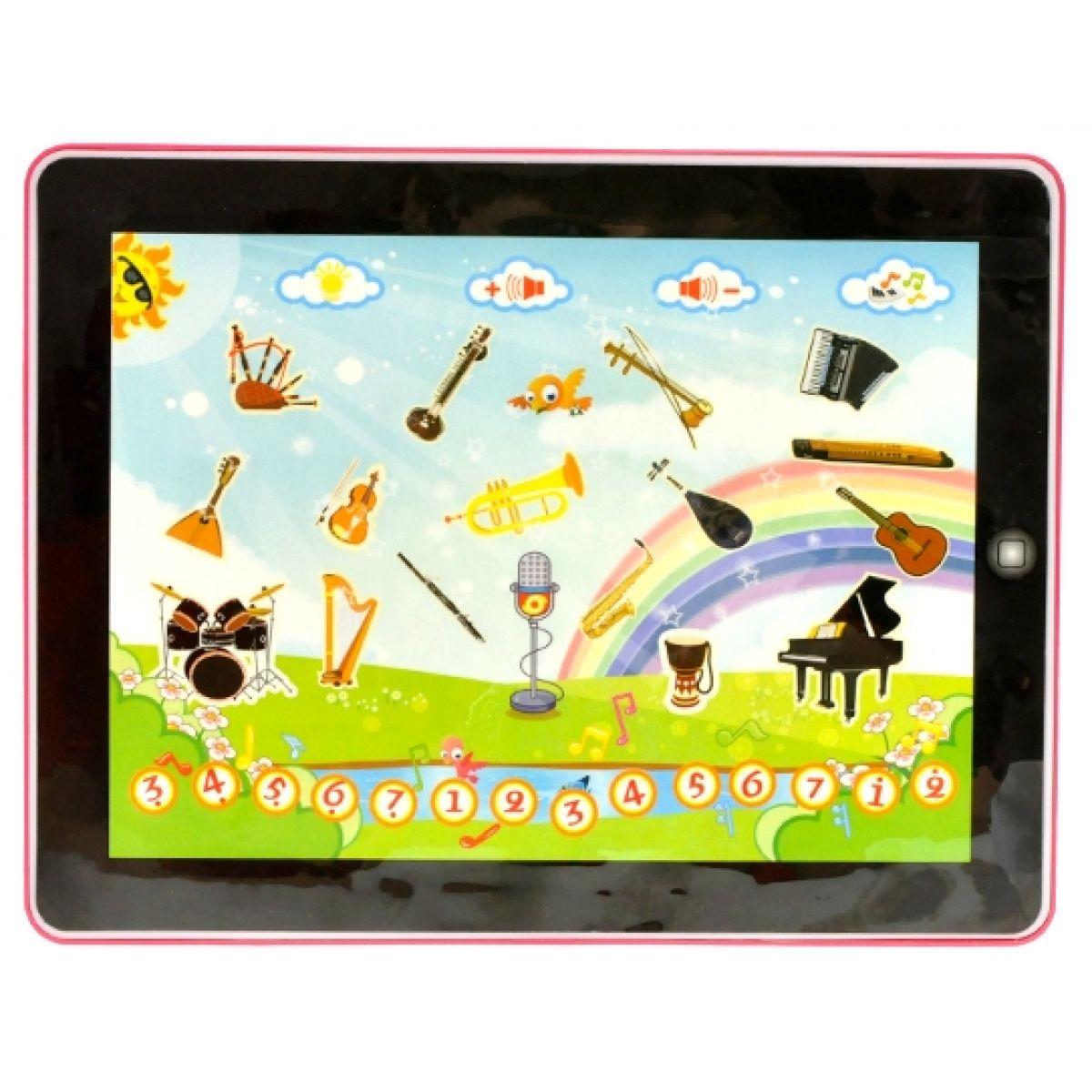 Tablet elektronický hudební nástroje