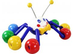 Tahací pavouk 33cm bílá hlava