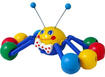 Tahací pavouk 33cm žlutá hlava