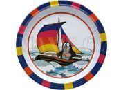 Talíř 21cm Krtek - plachetnice