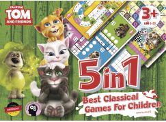 Talking Tom a přátelé 5v1 Nejlepší klasické hry pro děti