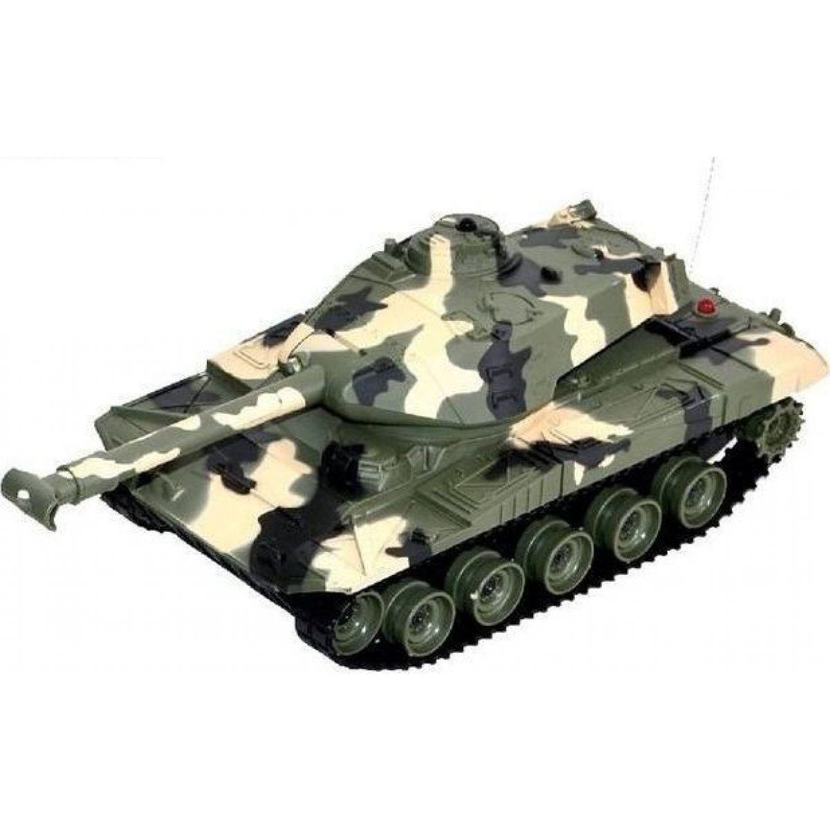 Tank na dálkové ovládání - Zelená