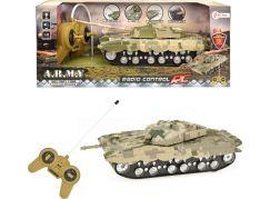 Tank RC na dálkové ovládání plast 22cm
