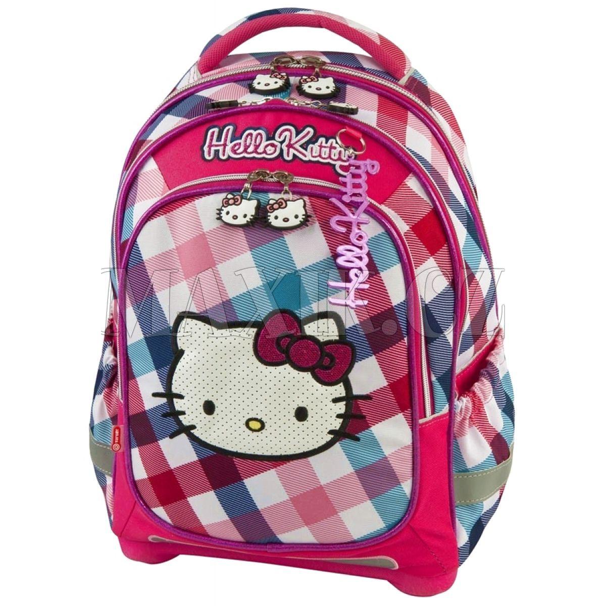 Target Batoh Hello Kitty růžovo světle modrý  6d59701999