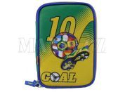 Target Penál Fotbal žluto/zelený plně vybavený