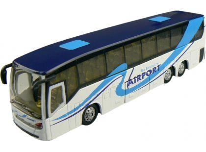 Teamsterz městský autobus 1:50 - Bílá