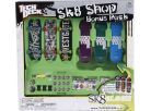 Tech Deck Fingerboard 6pack se stojanem 3