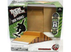 Tech Deck Skate Park S Fingerboardem Zelená