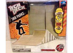 Tech Deck Skate Park S Fingerboardem Oranžová