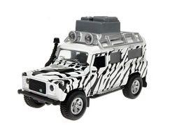 Teddies Auto - Land Rover safari na zpětné natažení se světlem