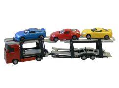 Teddies Auto - Přepravník + 3 auta