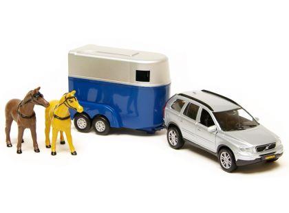 Teddies Auto - Volvo XC90 s přívěsem pro koně