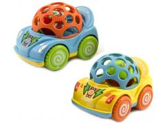 Teddies Auto s chrastítkem 10 cm