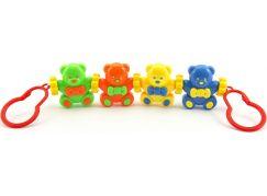 Teddies Baby řetěz medvídci