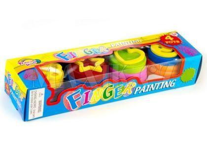 Teddies Barvy prstové 4ks v krabičce