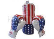 Teddies Boxovací pytel a 2 rukavice
