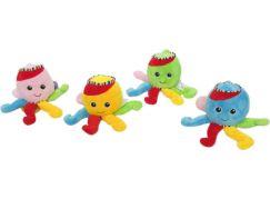 Teddies Chobotnice natahovací hrající strojek