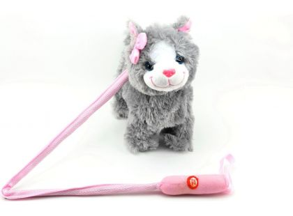 Teddies Chodící Kočka na tyčce