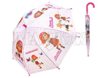 Teddies Deštník 3D II látkový automatický - Hurvínek
