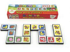 Teddies Domino Moje první zvířátka 28 ks