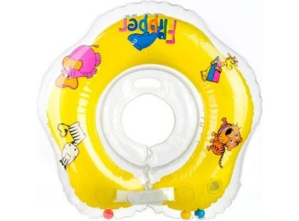 Teddies Flipper Plavací nákrčník žlutý