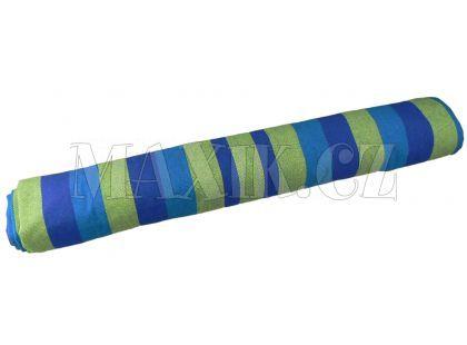 Teddies Houpací síť látková - Modro-zelená