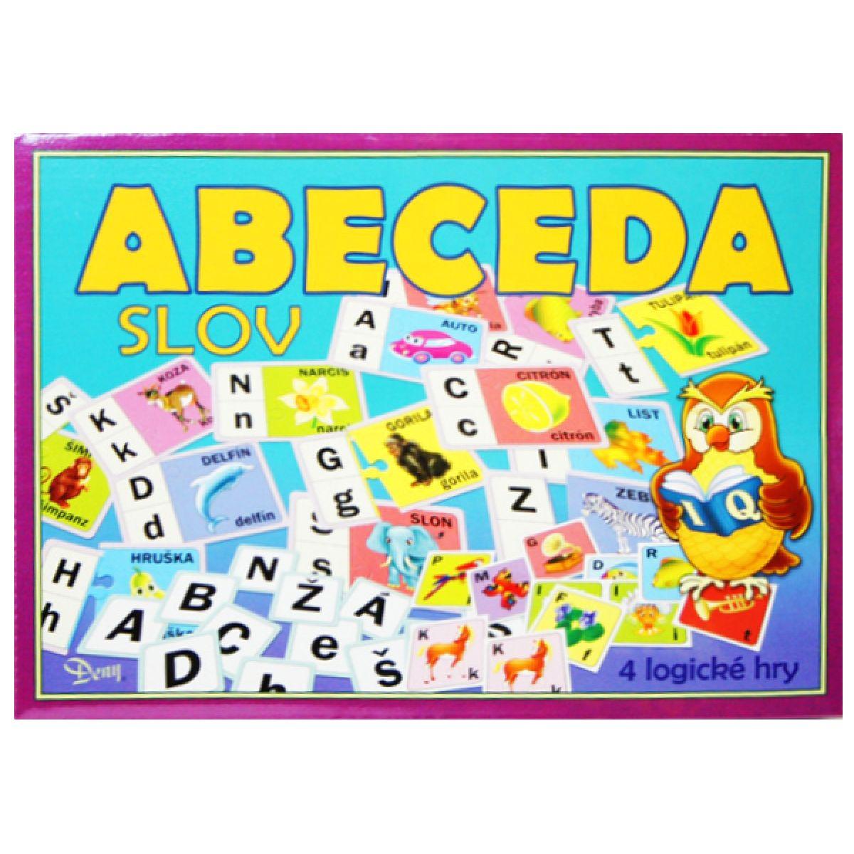 Teddies Hra - Abeceda slov